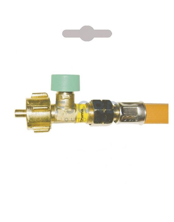 HD gasslang G12 75 cm met breukbeveiliging