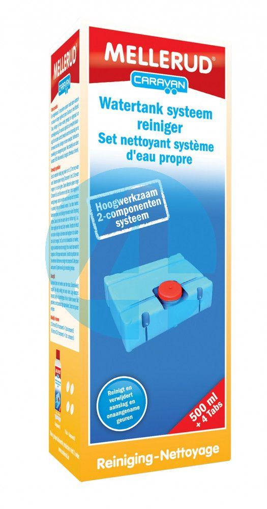 Mellerud Watertank Systeem Reiniger 0.5L + 4 Tabletten